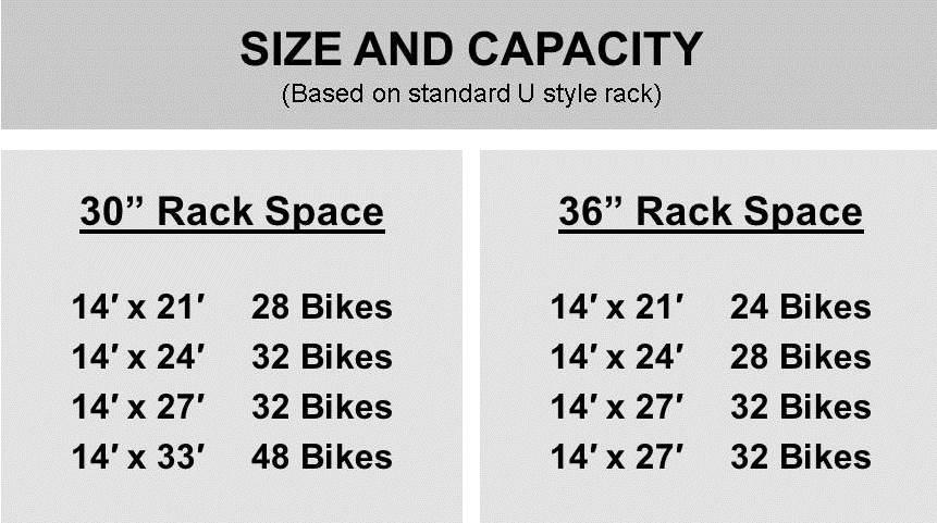 Arlington Rack Spacing 1