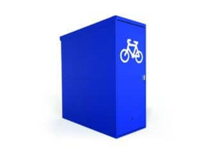 BLV1 2 3 Vertical Bike Locker New