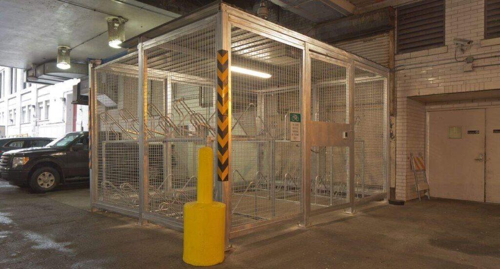 Duo-Gard Bike Cage