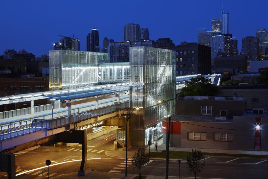 016_Morgan/Lake CTA Station - PRINT READY - Ross Barney Architects - Chicago