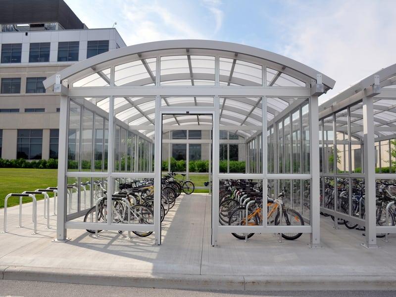 Ciena Bike Shelter 2