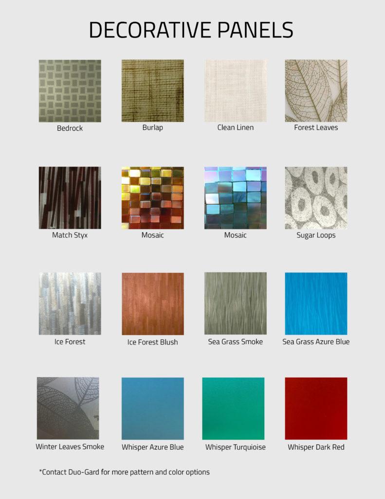 Decorative Panels Chart 791x1024