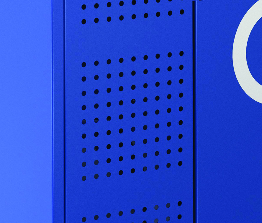 LVP1 Ventilations Locker Panel Optoin