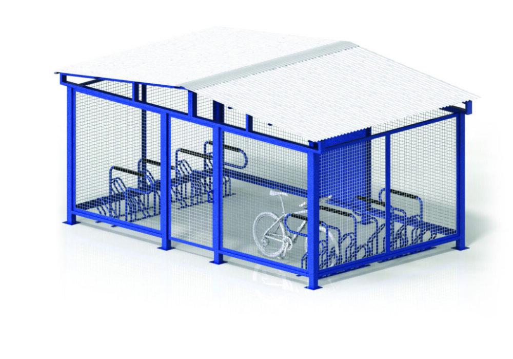 MHBC01 Bike Cages Horizontal 16to68 1024x716