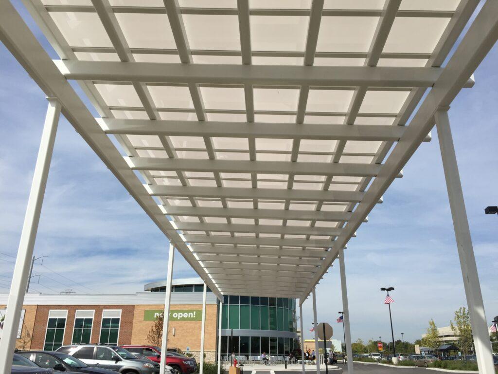 Duo-Gard Sleekline Monolithic Canopy