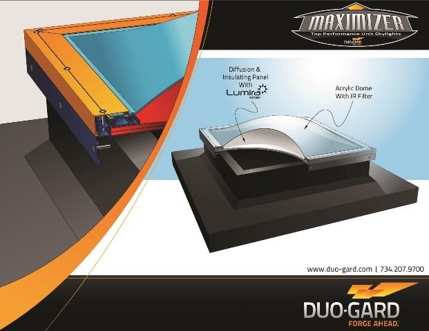 Duo-Gard Maximizer Skylight