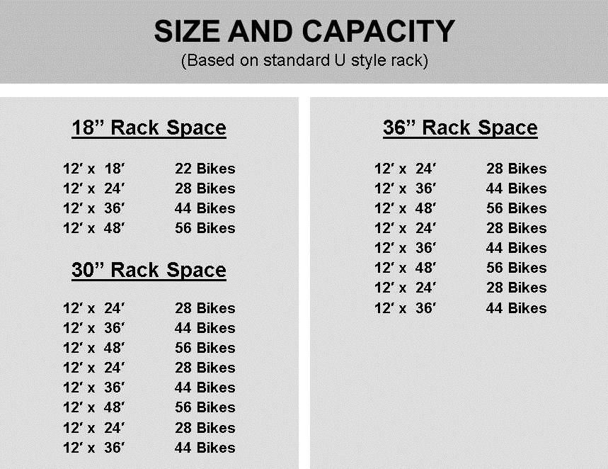 Sentry Rack Spacing
