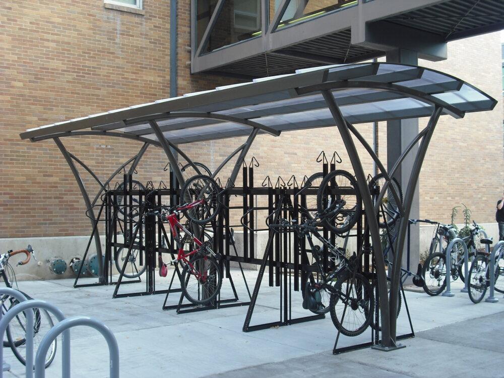USU Bike Shelter Project 2012