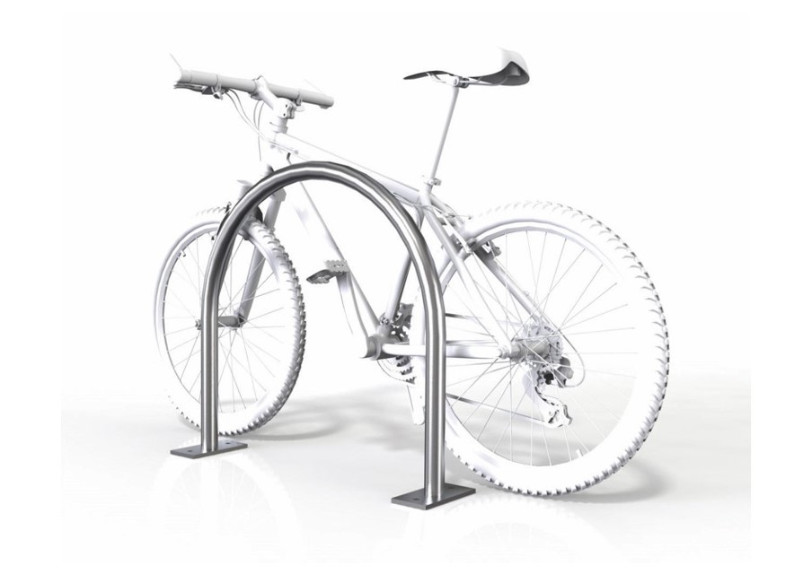 Architectural 2 Bike Rack Base Plate Br85b New