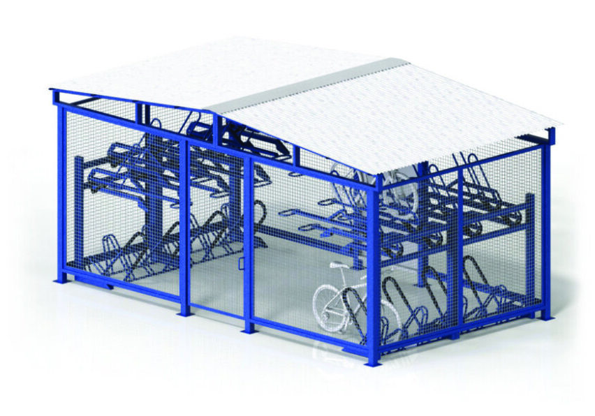 MHBC21 Bike Cages Tiered Storage All 1024x610