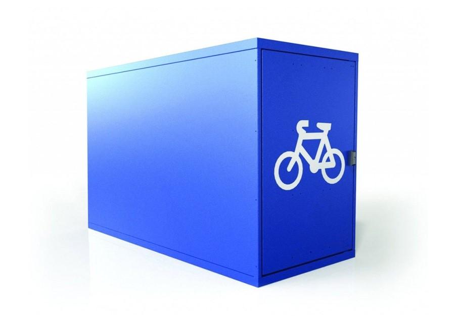Horizontal Single 1 Bike Locker Bsl18s New