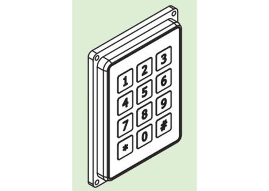 Pin Code Entry Pad Pin
