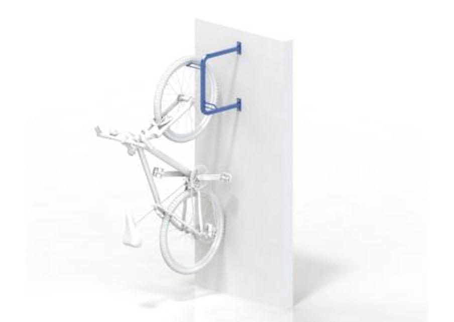 Wall Mount Hanging 2 Bike Rack Br542f New